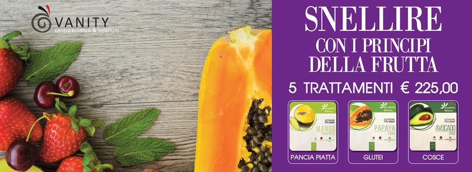 Snellire con i principi della frutta