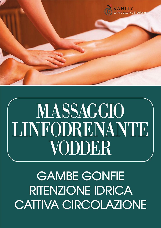 Massaggio linfodrenante Vodder - Firenze - Estetica Vanity